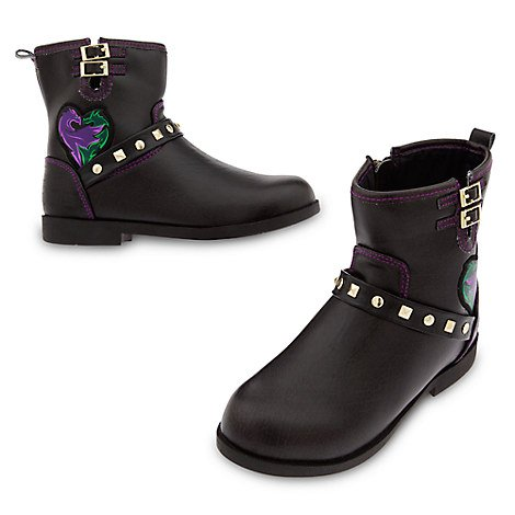 Disney Descendants 2 Faux Leather Boots for Girls