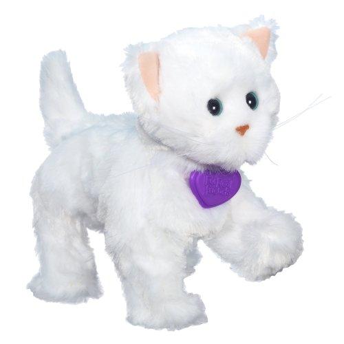 FurReal Friends Lulus Walkin Kitties Sugar Paws Pet (White) ()