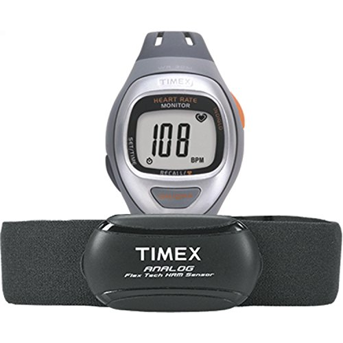 Timex Easy Trainer Activity Timer Heart Rate Monitor Strap Digital Sport T5K730