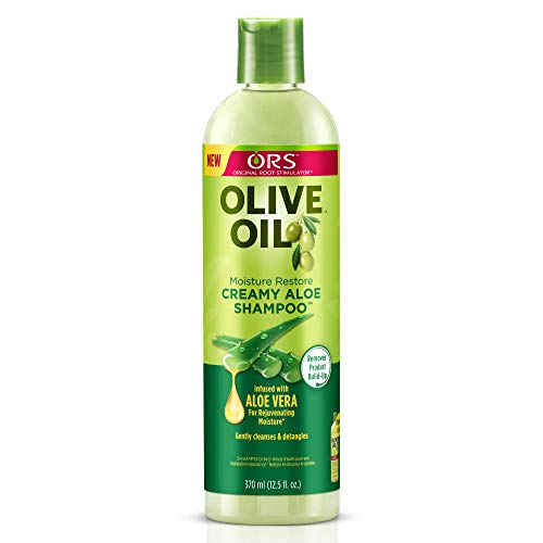 (ORS Olive Oil Moisture Restore Creamy Aloe Shampoo)