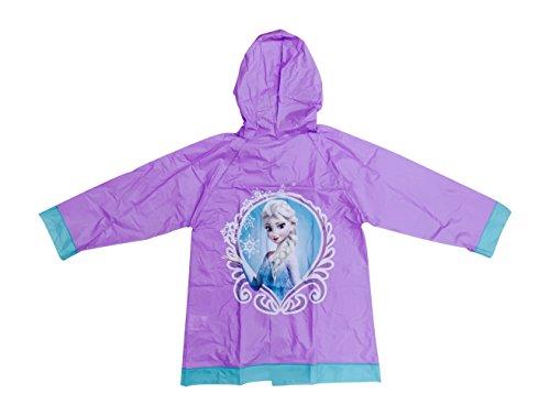 Frozen Girls Slicker Raincoat Purple
