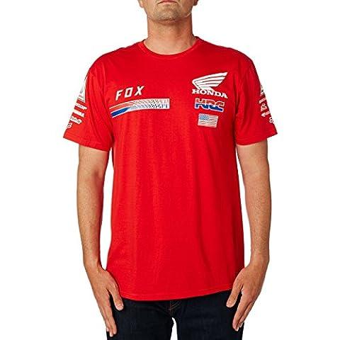 Fox Racing Honda HRC USA T-Shirt-Red-L (Fox Mx Shirts)