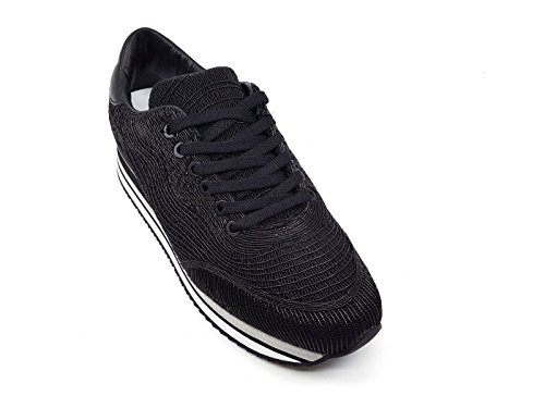 MainApps Sneaker London Nera 25443 Black Donna Crime qXRdwWEw