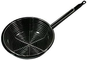 Garcima Sartén Cestillo, Acero, Negro, 52 x 28 x 20 cm