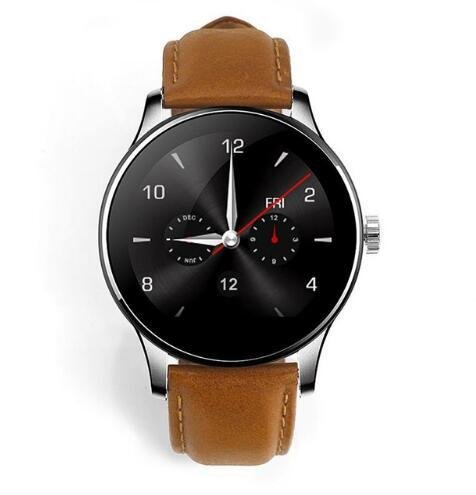 Amazon.com: GUANSHAN Smart Watch IOS Android Heart Rate ...