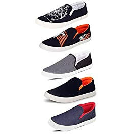 ba51eba6dd4 Tempo Men s Combo Pack Of 5 Loafers   Moccasins ...