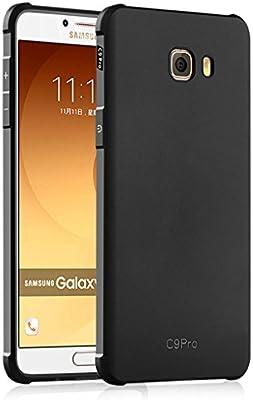 Tianqin Samsung Galaxy C9 Pro Funda TPU Suave Cubierta del Samsung Galaxy C9 Pro [Choque] [Thin] [Impedir la caída] [Prevent rascarse] Adecuado para Samsung Galaxy C9 Pro Caso - Negro: Amazon.es: Hogar