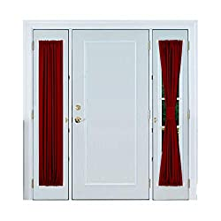 Deconovo French Door Curtain Panel Blackout Thermal Curtains for Patio Door