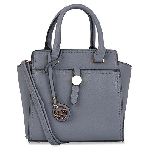 Vera Saffiano Handbags (Grey)