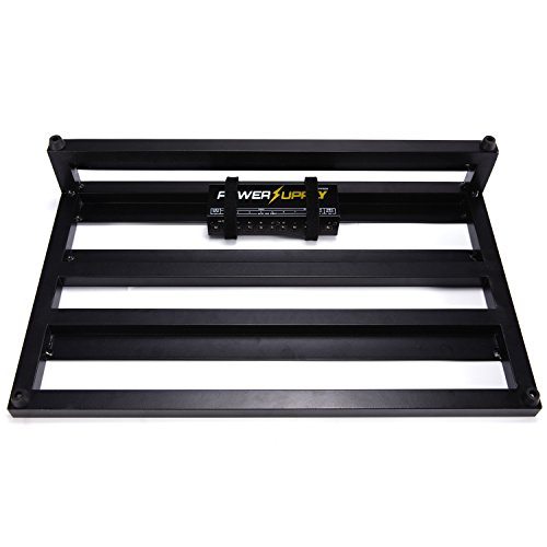 Donner Guitar Pedal Board Case DB-3 Aluminium Pedalboard 20'' x 11.4'' x 4'' with Bag by Donner (Image #3)