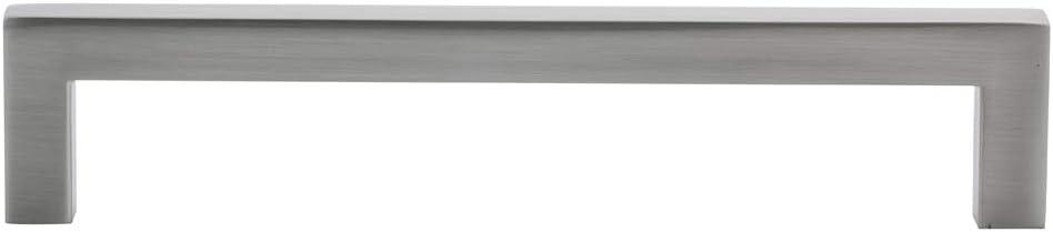 Basics distanza foro dal centro: 9,5 cm nickel satinato Maniglia per mobile 10,5 cm di lunghezza AB3701-SN-10