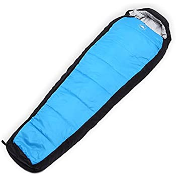 Winter XL Mummy Sleeping Bag - Perfect for Camping, Hiking, Backpacking & Travel. Comfort Temperature Range of 20-50°F. Fits Adults up to 6'6. Tough Ripstop Waterproof Shell & High-Loft Fill