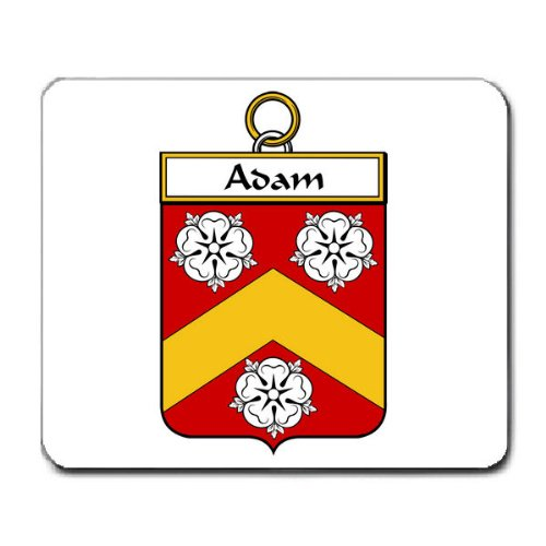 Adam Family Crest Coat of Arms Mouse (Adams Arm Pads)