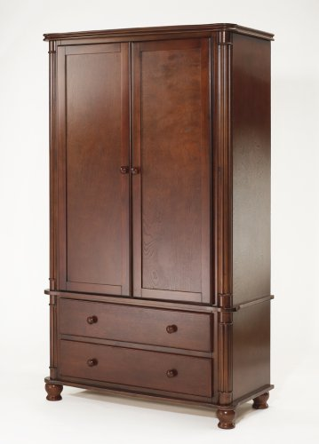 Amazon Com Sorelle Regal Armoire Cherry Discontinued By