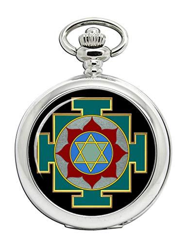 Family Crests Dhumavati Yantra Pocket Watch ()