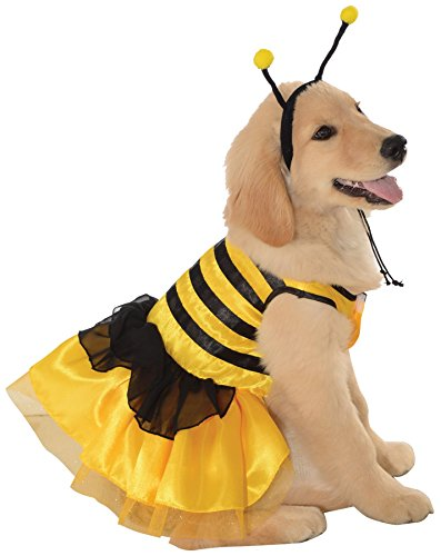 Bumblebee Dog Costume (Bumblebee Dress Pet Pet Pet Costume -)