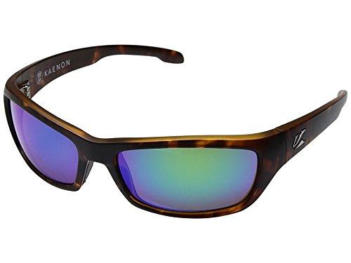 Kaenon Adult Cowell Sunglasses, Matte Tortoise / Coastal Green, One - Coastal Sunglasses