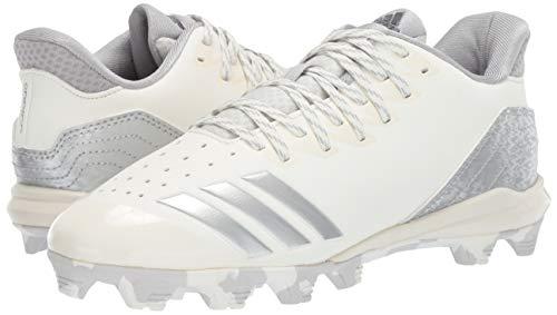 adidas Icon 4, Cloud White/Silver Metallic/Grey 4.5 M US Big Kid by adidas (Image #6)