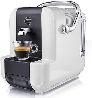 Lavazza SIMPLAWHITE Independiente Máquina de café en cápsulas 0.9L Negro, Color blanco - Cafetera (Independiente, Máquina de café en cápsulas, 0,9 L, ...