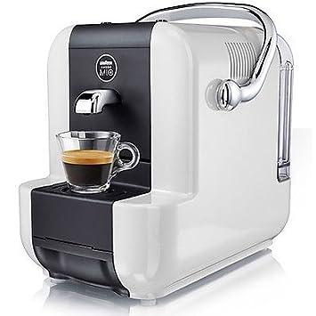 Lavazza SIMPLAWHITE Independiente Máquina de café en cápsulas 0.9L Negro, Color blanco - Cafetera