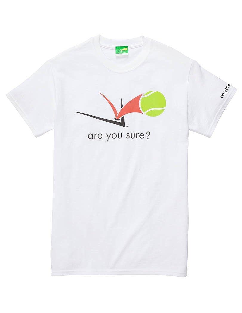 7754afa9df7 are you sure  Mens Tennis T-Shirt