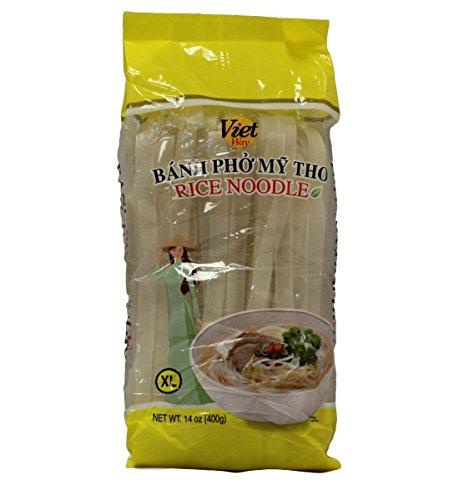 Rice Stick Noodles - Viet Way Rice Noodle Sticks for Pho, 14oz (3 Packs) (XL)