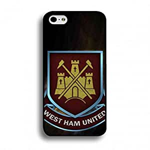 Apple IPhone 6 Plus/IPhone 6S&Plus(5.5inch) Funda West Ham United Football Team Logo Phone Accessories West Ham United FC Phone Funda