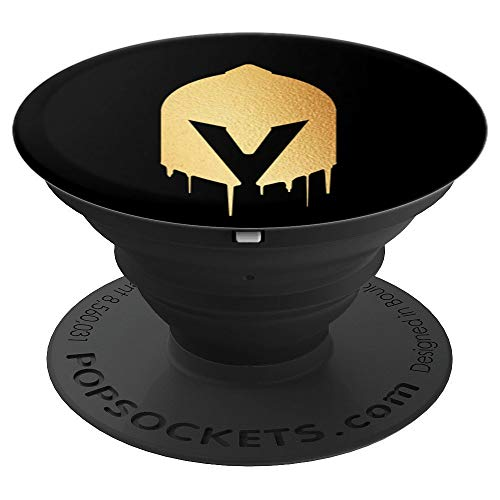 - Dripping Knight Helmet Gear Mask Knob Grip - PopSockets Grip and Stand for Phones and Tablets