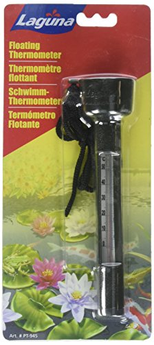 Hagen Pond Laguna Koi (Laguna Pond Celsius and Fahrenheit Scale Thermometer)