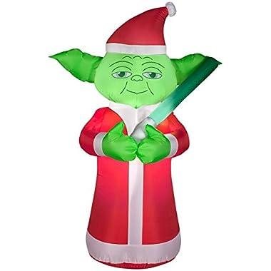 5 Feet Tall Star Wars YODA Christmas Airblown Inflatable Air Blown
