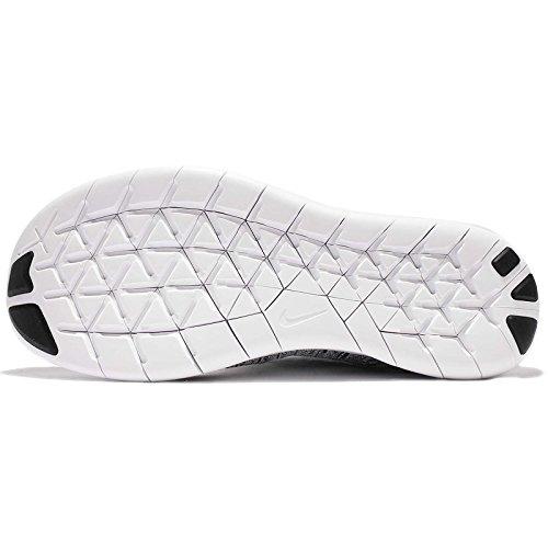 Nero Black Nike da RN Scarpe 003 Uomo Free Flyknit Volt White 2017 Running 8wfzq8xOr
