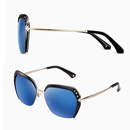 polarisées Blue Élégantes soleil de lunettes lady 1FqIpF