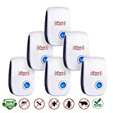 Ultrasonic Pest Repeller,Pest Reject ultrasonic Repeller,Plug in Repeller,Pest Control Repellent Outdoor&Indoor,Get Rid of Insect,Mice,Rats,Spiders,Fleas,Roaches,Bed Bugs,Mosquitoes,Child&Pet Safe