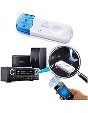 Adaptador Receptor Transmissor Musicas Áudio Bluetooth Usb Pendrive Com Microfone - CompleteStore®