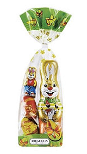 Riegelein Easter Milk Chocolate Assortment - 100gram Bag