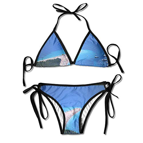 Sexy Women BOL Sea Adria Croatia Golden Horn Beachwear Adjustable Sexy Bikinis Set