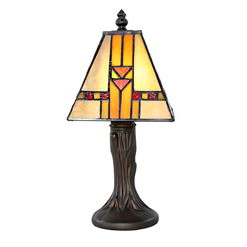 Frank Lloyd Wright Stained Glass Table Lamp - 11
