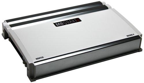 MB Quart NA360.4 Nautic Amplifier, 4-Channel 360-Watt ()