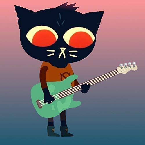 Night in the woods Maes guitar