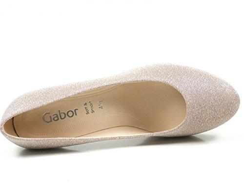 Gabor 81-260 Sko Damer Glamour Plateau Pumps Bred F Lyserød Q7kDI