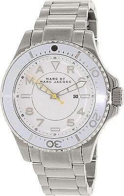 Marc by Marc Jacobs Women's MBM3407 Analog Display Analog Quartz Silver-Tone Watch