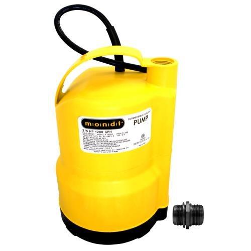 Mondi Utility Sump Pump 1200 GPH by Mondi