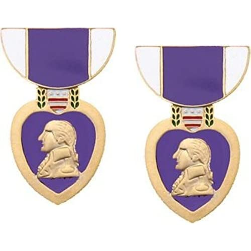 80%OFF MilitaryBest Purple Heart Medal Hat Pin - 1