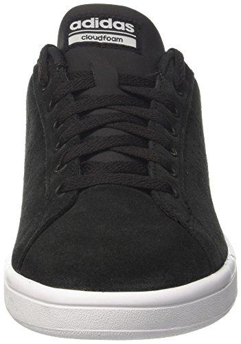 adidas Black Core Top Cloudfoam Men Low Sneakers Yellow Solar Black Advantage TnrqT0x8