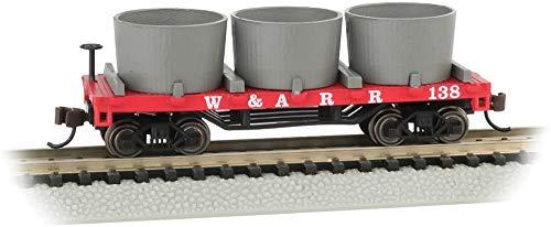 Old-Time Water Tank Car Western & Atlantic - N Scale