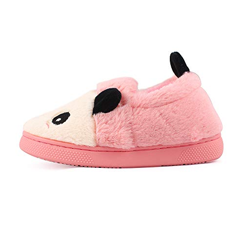 MK MATT KEELY Kids Panda Slippers Plush Animal Autumn and Winter Warm Cotton Shoes Toddler Girls by MK MATT KEELY (Image #4)