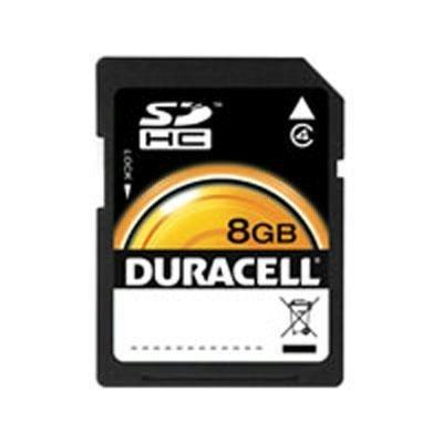 Duracell 8GB SD memory Card (DU-SD-8192-R)