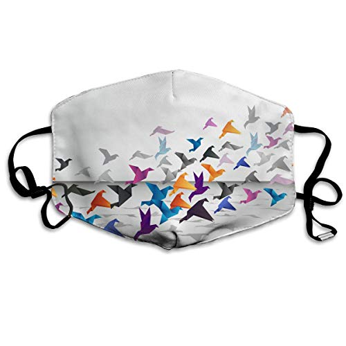 YUANSHAN Dust Mask Origami Flying Outdoor Mouth Mask Anti Dust Mouth Mask for Man Woman]()