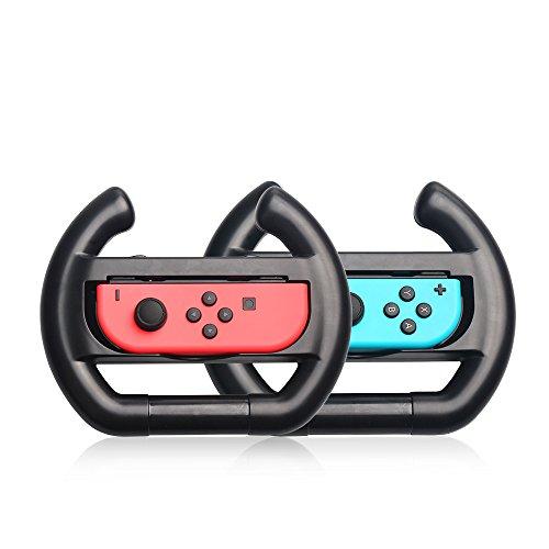 JoyCon Wheel for Nintendo Switch,Joy Con Steering Wheel f...
