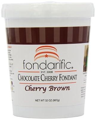 Fondarific Chocolatey Cherry Fondant, 2-Pounds